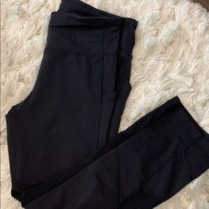 LULULEMON fast n Free right 6 black